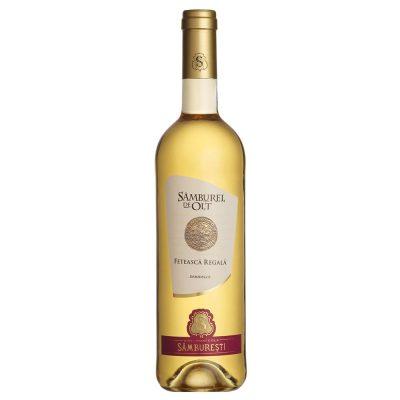 Vin alb demidulce 0.75L Samburel de Olt Feteasca Regala
