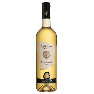 Vin alb demisec 0.75L Samburel de Olt ChardonnayVin alb demisec 0.75L Samburel de Olt Chardonnay