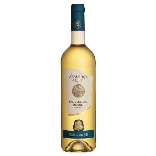 Vin alb demisec 0.75L Samburel de Olt Sauvignon Blanc