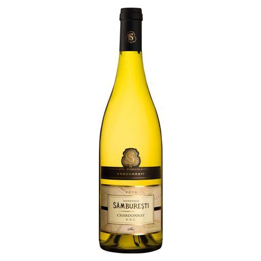 Vin alb sec 0.75L Domeniile Samburesti Chardonnay