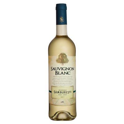 Vin alb sec 0.75L Domeniile Samburesti Sauvignon Blanc