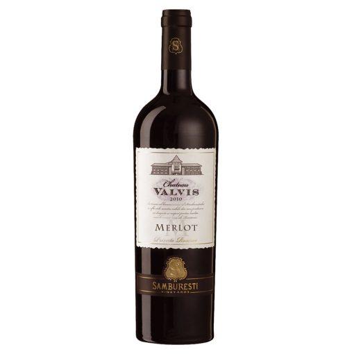 Vin rosu sec 0.75L Chateau Valvis Merlot 2010 Private Reserve