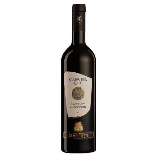 Vin rosu sec 0.75L Samburel de Olt Cabernet Sauvignon