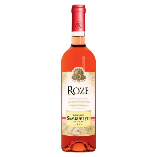 Vin roze sec 0.75L Domeniile Samburesti Roze