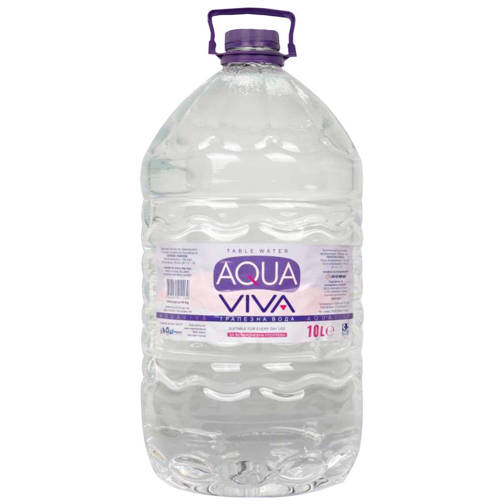 Viva Aqua apă plată 10l aqua viva aqua flux