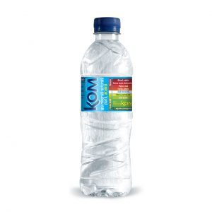 Apă minerală plată alcalină cu pH 9,2 0,5L Kom
