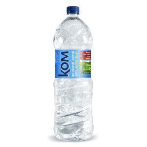 KOM apa minerala naturala plata alcalina pH 9,4