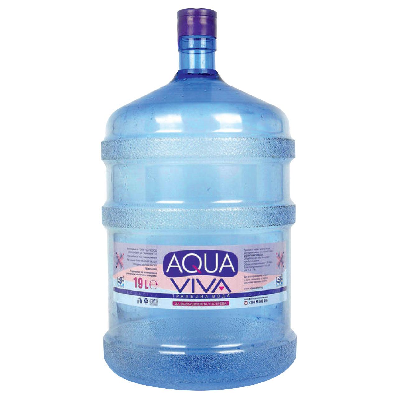 Viva Aqua apă plată 19l aqua viva aqua flux