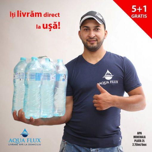 Apa minerala plata 2L Bucovina Pachet Promo 5+1 gratis